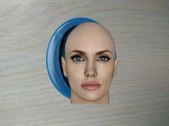 Силиконовый молд Голова  ( 2/3) Анджелины Джоли