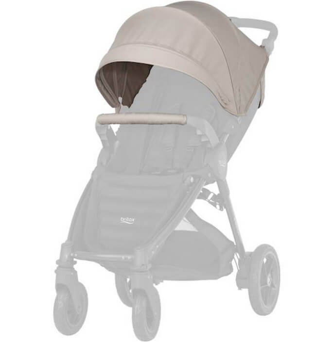 Капор для коляски B-Agile 4 Plus, B-Motion 4 Plus, B-Motion 3 Plus Капор для коляски B-Agile 4 Plus, B-Motion 4 Plus, B-Motion 3 Plus Sand Beige kapor_sand-beige.jpg