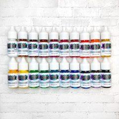 Краски для аэрографии набор «Профи 10», 20 цветов по 10 мл