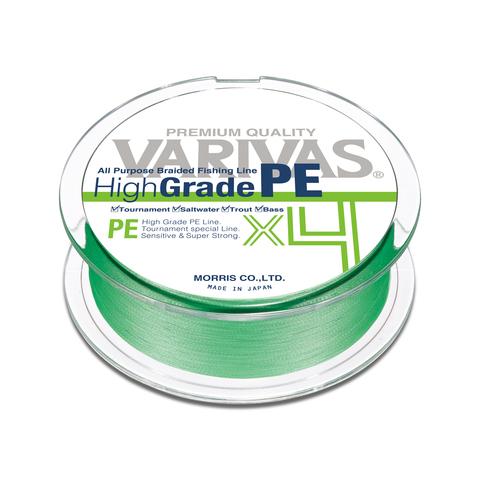 Плетенный шнур VARIVAS HIGH-GRADE PE X4 150M FLASH GREEN