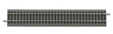 Рельсы прямые 239 мм на подложке, уп. 6 шт.