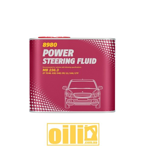 Mannol 8980 POWER STEERING FLUID 0,5л