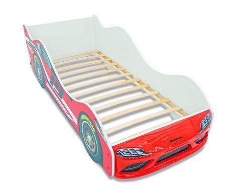 Кровать-машинка СУПРА-3D с подсветкой фар