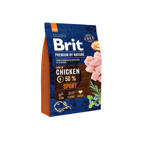 сухой корм Brit Premium by Nature Sport для собак всех пород с высокими затратами энергии