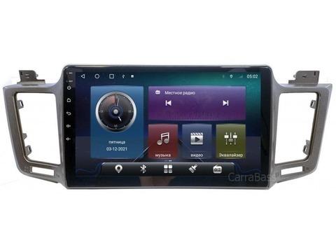 Магнитола Toyota RAV4 (13-18) Android 10 4/64 IPS DSP 4G модель CB-2002TS10