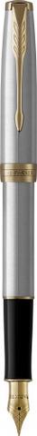 Перьевая ручка Parker Sonnet Stainless Steel GT123