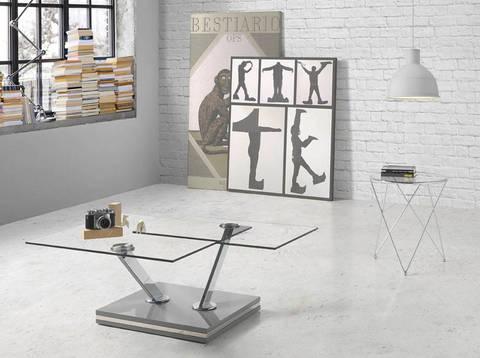 Стеклянный столик T0170
