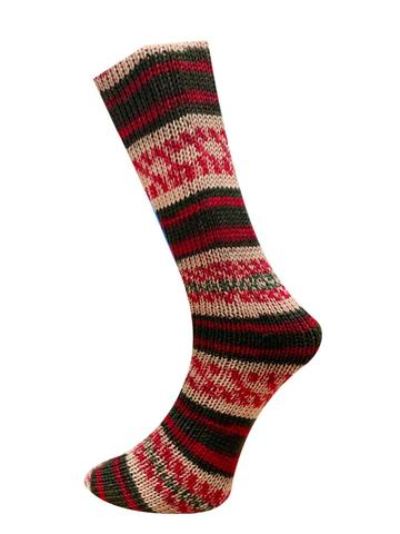 Ferner Wolle Mally Socks Weihnachts 21