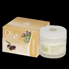 Ночной крем для лица OLIVE 50 мл