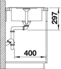 Мойка Blanco Metra 45S Compact схема