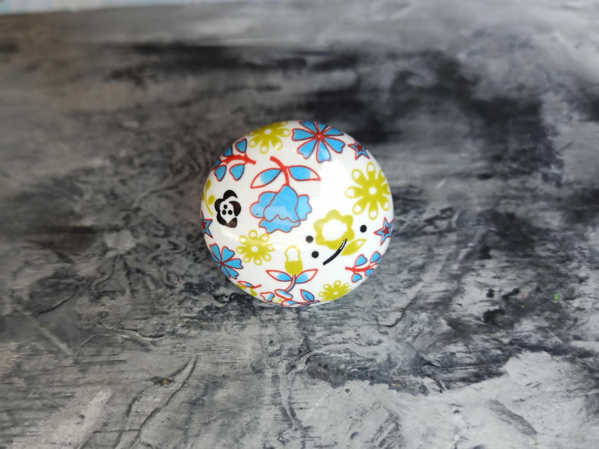 Ручка мебельная керамическая, 00001231