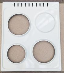 Верхняя варочная эмалированная панель плиты Лысьва (3 конф.)
