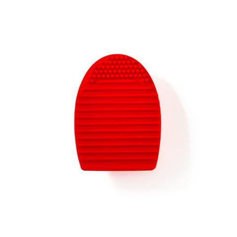 Коврик-яйцо силиконовый для чистки кистей Lic NEW/ Brush cleansing pad NEW