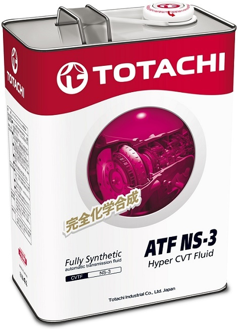 ATF NS-3 TOTACHI масло трансмиссионное для вариатора (4 Литра)
