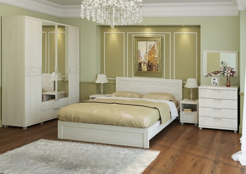 Спальня Ирис-02 дуб бодега