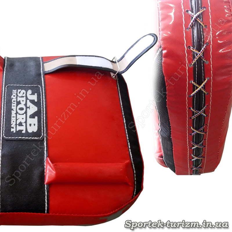 Захваты для рук и шнуровка макивары JAB размерами 52х42х13 см