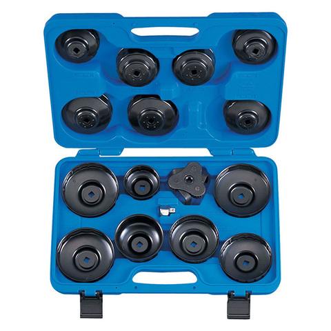 KING TONY (9AE2016) Набор съемников масляных фильтров, 66-108 мм, 16 предметов
