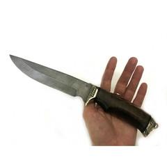 Нож Легионер, дамасская сталь, литье, орех