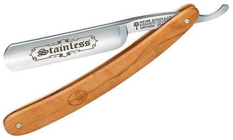 Опасная бритва Boker Manufaktur SOLINGEN 140537 Stainless Olive