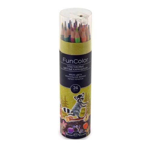 Карандаши цветные BRUNO VISCONTI Funcolor 24 цв 30-0087