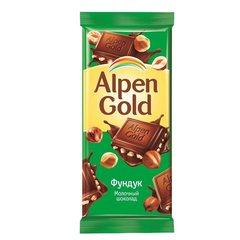 """Шоколад """"Alpen Gold"""" с фундуком, 90 г"""