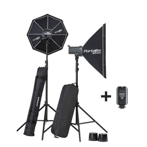 Elinchrom D-Lite RX 4 400/400 Softbox Kit