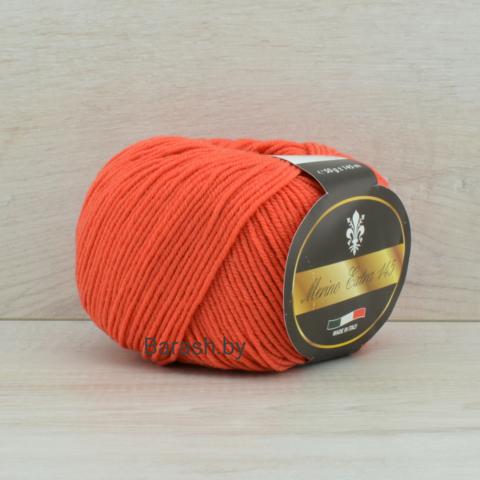Пряжа Merino Extra 145 (Мерино экстра 145) Темно-оранжевый