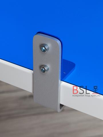 Экран на струбцинах (01 серые) синий прозрачный Ш. 1000мм