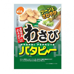 Хрустящий арахис Denroku с васаби и сливочным маслом 100 гр