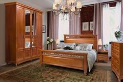 Спальни из массива дерева Венеция