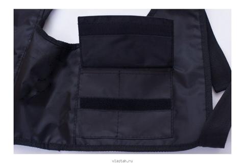 Жилет разгрузочный Сарган Тобол чёрный – 88003332291 изображение 5