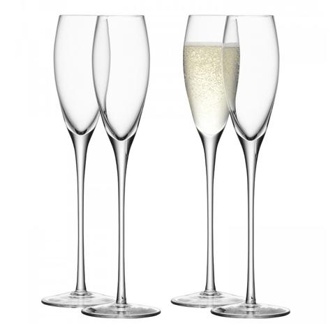 Набор из 4 бокалов-флейт LSA International Wine, 160 мл