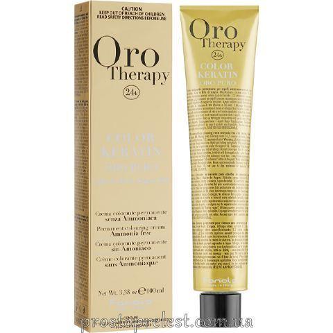 Fanola Oro Therapy Color Keratin - Безаміачна крем-фарба 100 мл