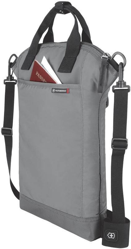 Сумка наплечная Victorinox Altmont 3.0 Slimline Tote с отделением для ноутбука, цвет серый (32389704) 31x6x41 см., 7 л. | Wenger-Victorinox.Ru