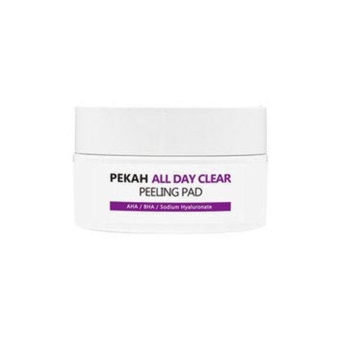 Pekah Очищающие и отшелушивающие диски All Day Clear Peeling Pad, 40EA/65ml