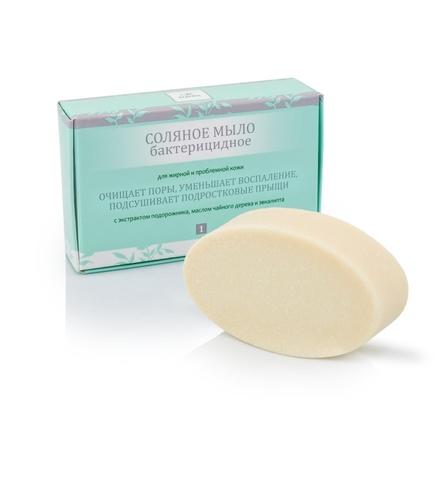 Мыло соляное для жирной и проблемной кожи, ТМ KLEONA