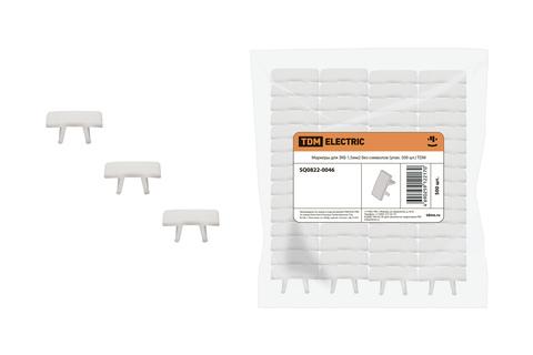 Маркеры для ЗКБ 1,5мм2 без символов (упак. 500 шт.) TDM