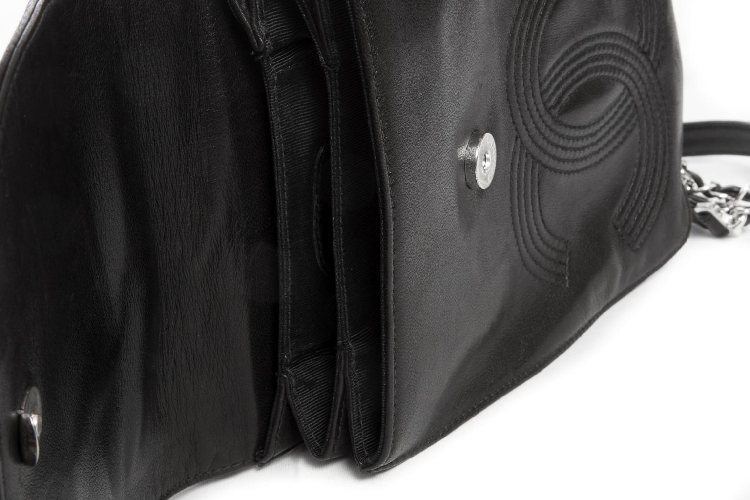 Стильный кожаный рюкзак от Chanel.