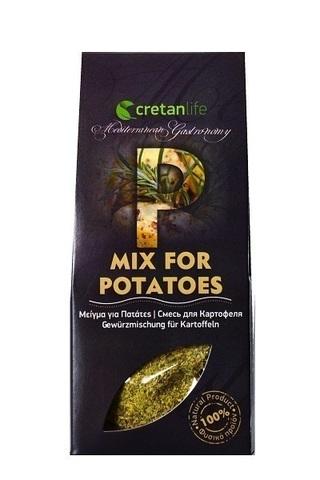 Греческая приправа для картофеля CretanLife 50 гр