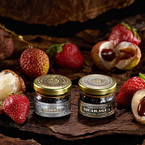 Табак WTO Caribbean Blend Lychee Strawberry (ВТО Карибский БлендЛичи Клубника) 20 г