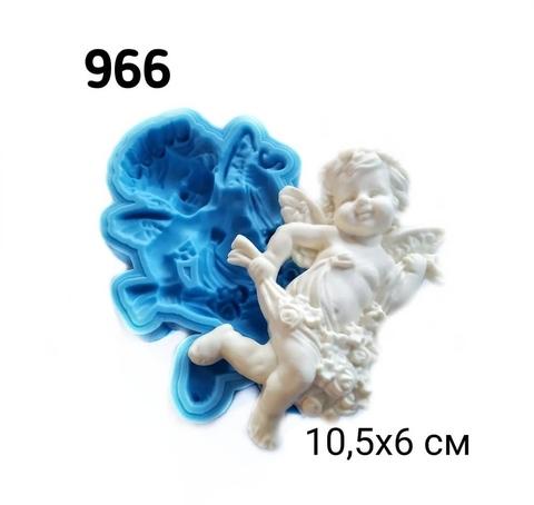 0966 Молд силиконовый. Ангел (левый).
