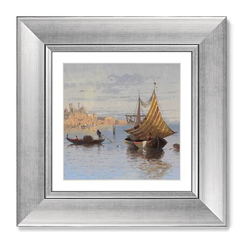 Карл Кауфманн - Диптих Sunrise, 1890г. (из 2-х картин)