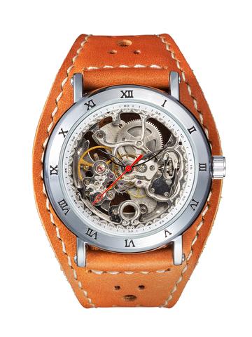 Часы скелетоны мужские механические Journey YOURTIME