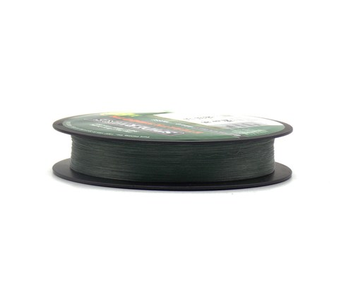 Плетеная леска Spiderwire Dura4 Braid Темно-зеленая 300 м. 0,12 мм. 10,5 кг. Mgrn