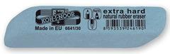 Ластик для графита, пастели и чернил EXTRA HARD 6641, 83х14х12мм, голубой