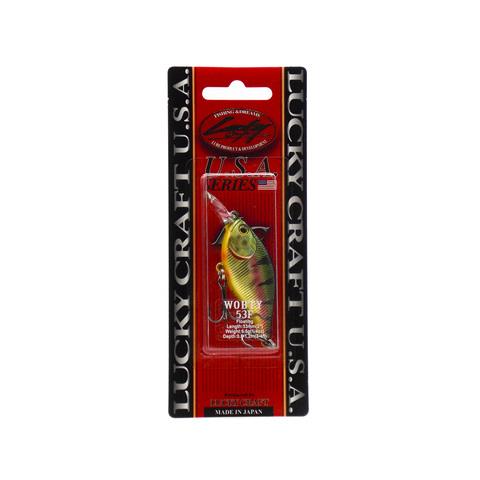 Воблер Lucky Craft Wobty 53F - 884 Aurora Gold Northern Perch