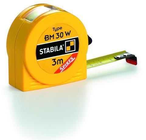 Карманная рулетка Stabila тип BM30W 3 метра (арт. 16456)