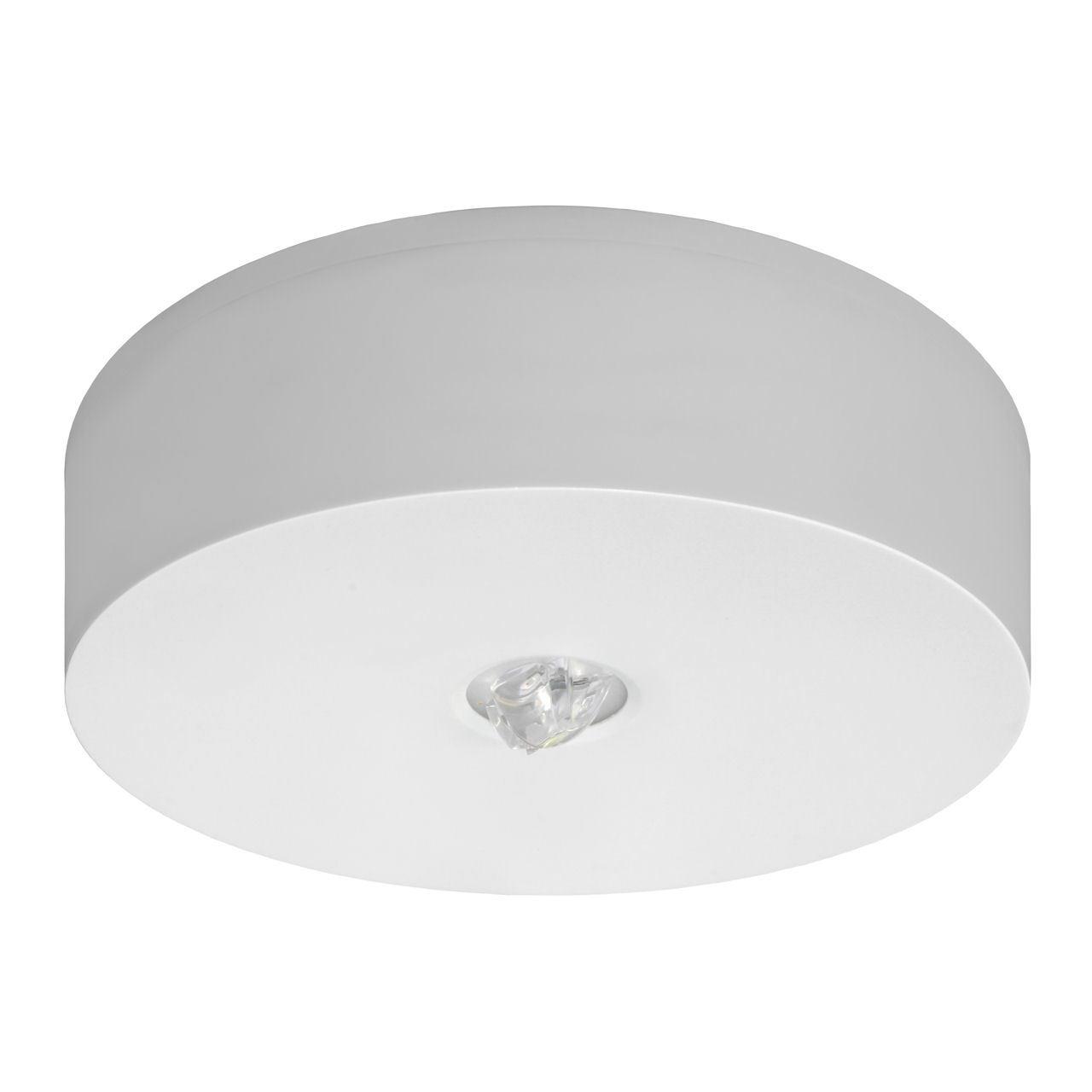 Потолочный светильник IP65/IP42 аварийного освещения на путях эвакуации AXN/C Awex