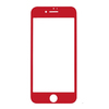 Защитное 3D-стекло для iPhone 7/8 Red - Красное