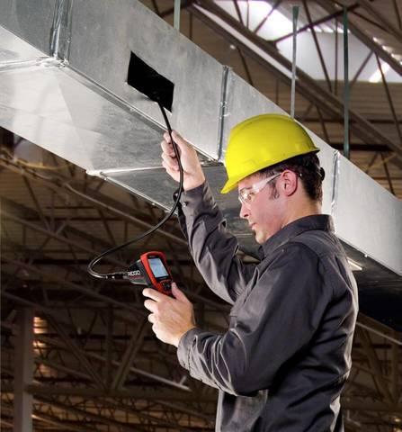 Обследование вентиляционных шахт